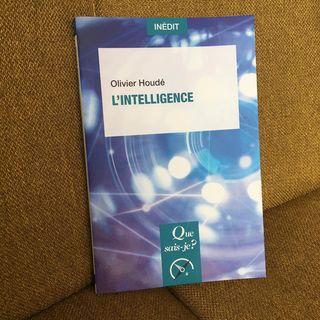 #enlibrairie LIntelligence dOlivier Houd   Quest-ce que lintelligence? Jadis, le psychologue...