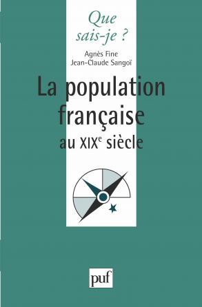 La population française au XIXe siècle