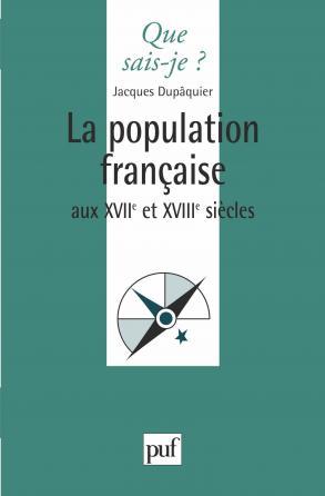 La population française au XVIIe et XVIIIe siècles
