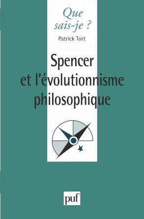 Spencer et l'évolutionnisme philosophique