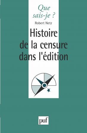 Histoire de la censure dans l'édition