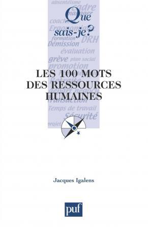 Les 100 mots des ressources humaines