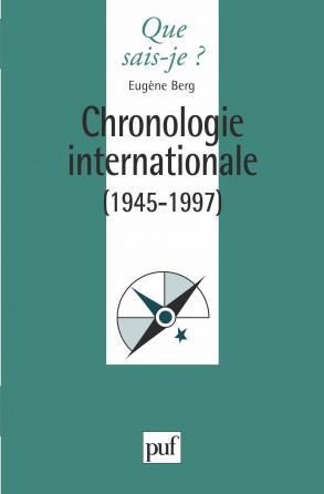 Chronologie internationale 1945-1995