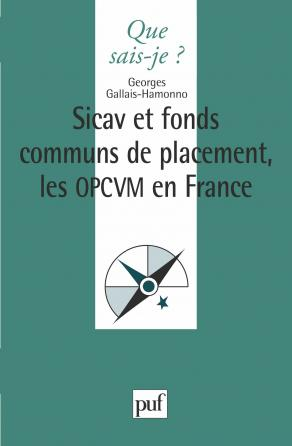 Les Sicav et fonds communs de placement