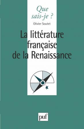 La littérature française de la Renaissance