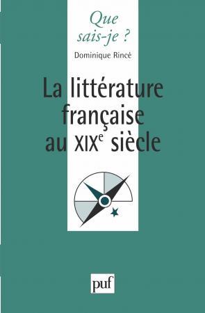 La littérature française du XIXe siècle