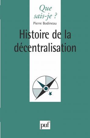Histoire de la décentralisation