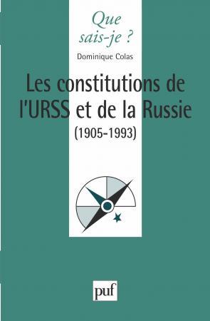 Les constitutions de l'URSS et de la Russie