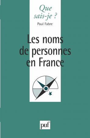 Les noms de personnes en France