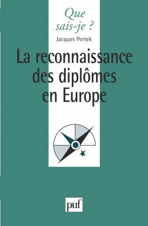 La reconnaissance des diplômes en Europe