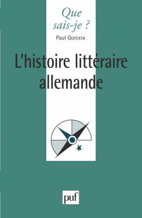 L'histoire littéraire allemande