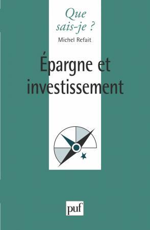Épargne et investissement