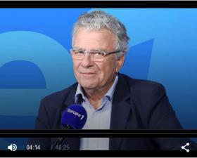 François Dufour dans l'émission Mediapolis sur Europe 1