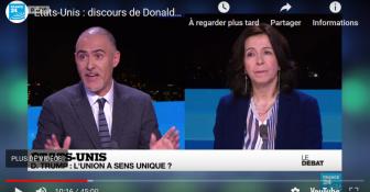 États-Unis : discours de Donald Trump, l'Union à sens unique ? - France 24