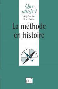 La méthode en histoire